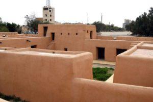 حصن القصر الاحمر في الجهراء بالكويت