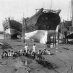 تاريخ صناعة سفينة البلم الفودري في الكويت