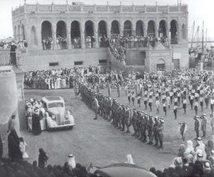 حفل استقبال لقيادي يزور الكويت في قصر السيف العامر