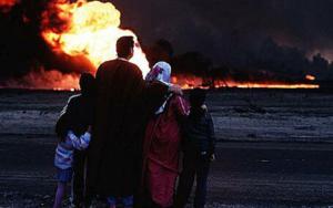 جرائم جند صدام في الكويت ...حرق آبار النفط وتلويث البيئة