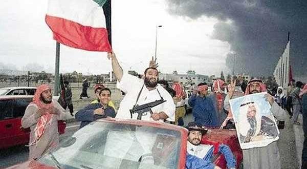 العدوان العراقي على الكويت وآثاره ..فرحة النصر