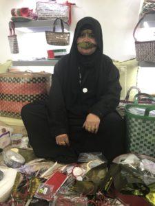 النقبي تتحدث عن برقع المرأة الاماراتية