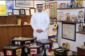 الباحث فهد العبدالجليل في متحقه التراثي