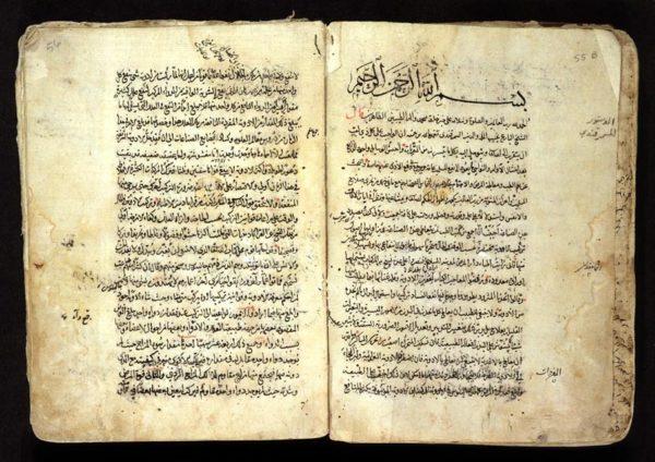 مخطوطة عربية في الخزائن التركية