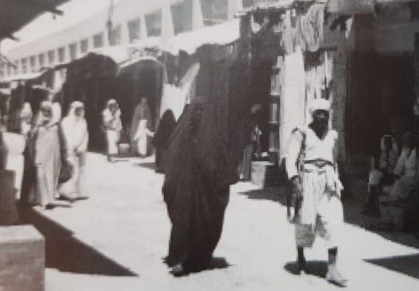 إحدى الأسواق القديمة في كويت السور