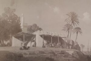 لوحة لقرية بني سويف في مصر عام 11-1847 م من مقتنيات متحف والاس بلندن