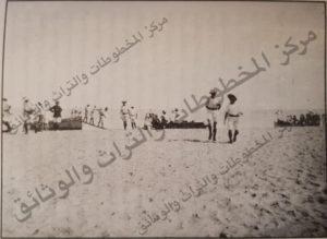 إنزال بحري بريطاني على شواطيء الكويت