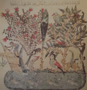 إحدى الرسومات العراقية في الحقبة العباسية