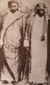 الشيخ مبارك و الشيخ خزعل الصديقان الحميمان