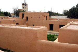 القصر الأحمر في الجهراء بالكويت