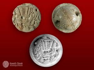عملات لحضارات قديمة عير عليها في الكويت