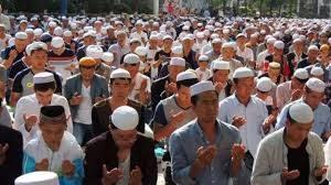 مسلموا الصين في احدى المناسبات