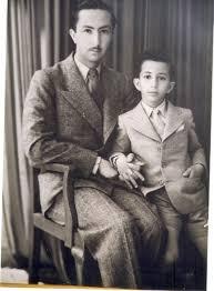 الأمير الوصي عبدالاله مع الملك فيصل الثاني