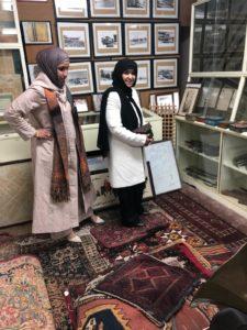 الصباح و العياد في زيارتهما لمزكز المخطوطات