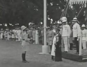 حفل استقبال السلطان خليفة بن حارب في لندن