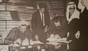 الوكيل سعدون الجاسم و توقيع اتفاقيات ثنائية اعلامية