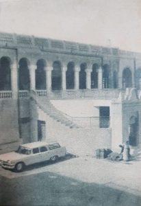 لقاء المصور مع الشيخ عبدالله السالم عام 1959 م