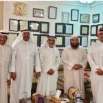د.الشيباني يستقبل وفد الجمعية الكويتية للتراث