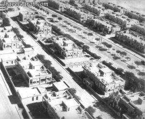 شارع سالم المبارك كما بدا قديما في الستينيات