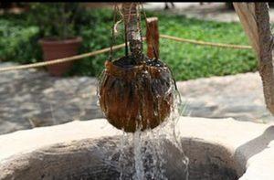 زعب الماء من الجليب