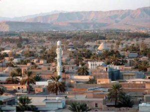 أحدى مناطق سكني العرب في الساحل الشرفي لفارس