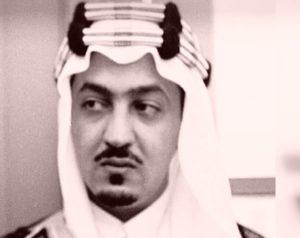الأمير الشاعر عبدالله الفيصل في شبابه