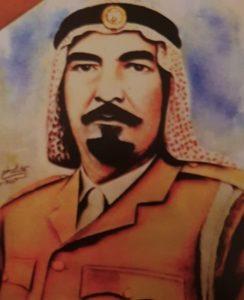 خالد المسعود آمر الحدود الكويتية الشمالية