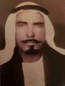 خالد المسعود في شبابه