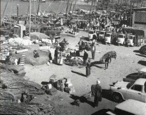 انزال البضائع في فرضة الكويت سابقا