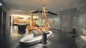 جانب من معروضات المتحف الوطني العماني