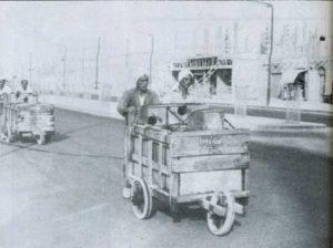 عربات باعة الماء المتجولين في الكويت قديما