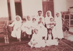 أسرة الحمد من تصوير آلن فلييرز عام 1938