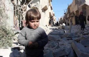 الحروب تدمر براءة الطفولة