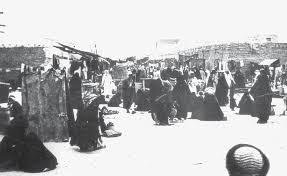 سوق الحمام في الكويت القديمة