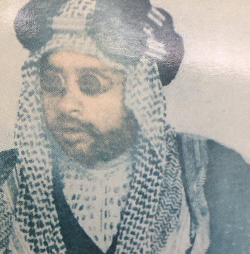 الشخ ناصر بن مبارك الصباح