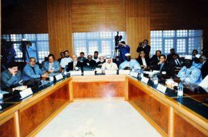 راشد الفرحان يرأس أحدى الاجتماعات ملتقى إسلامي