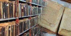 مكتبة مخطوطات نادرة