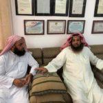 باحثو مكتبة الملك عبدالعزيز يزورون مركز المخطوطات