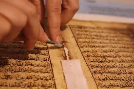 ترميم التلف في المخطوطات