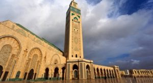 جامع الحسن الثاني في المغرب