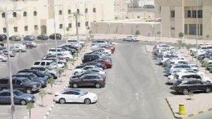 جانب من مرافق منطقة حطين في الكويت