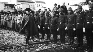 الجيش االعثماني في وضعية اصطفاف