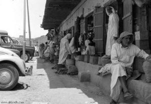 سوق في الأحساء القديمة