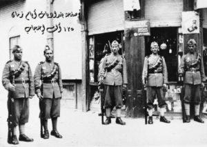 انتشار عسكري في العراق بعد انقلاب نيسان 1941 م