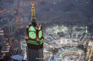 برج الساعة في مكة