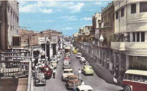 شارع الرشيد في عراق الخمسينيات