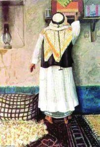 لوحة الفنان أيوب حسين
