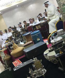 جانب من أحدى المزادات في الكويت