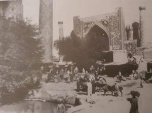 ريحستان هو قلب المدينة القديمة وأحد معالم سمرقند