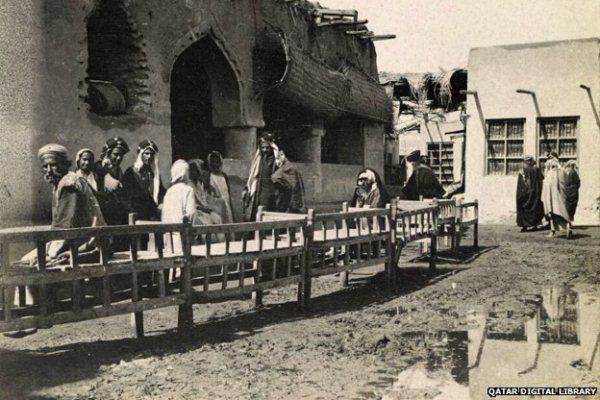 حانوت قديم في مدينة الكويت في ثلاثينات القرن الماضي